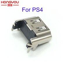 10 Cái/lốc Mới Dành Cho PlayStation 4 PS4 Cổng HDMI Ổ Cắm Giao Diện Kết Nối Thay Thế