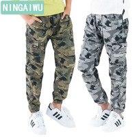 Big Children S Wear New Autumn Outfit 2017 Boys Slacks Camouflage Pants Children Long Pants Teenage