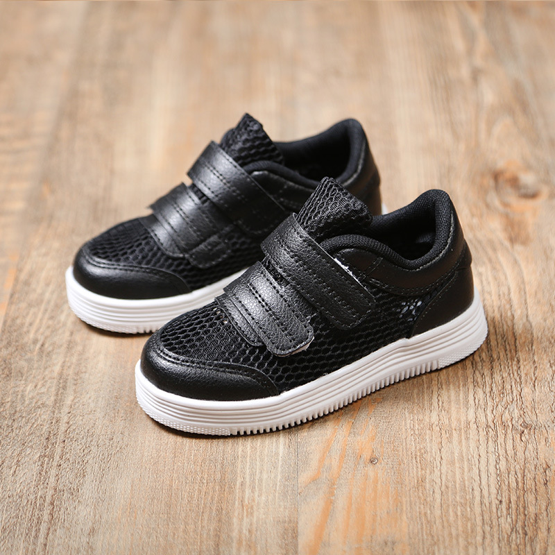 2018 Summer Children Sport Shoes Breathable Cool Air Mesh Sneakers For Kids Comfortable Skateboarding Shoes Girls Zapatillas ...