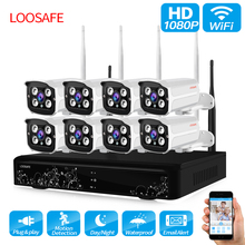 ФОТО hot!! 1080p hd built-in wifi module double antenna signal range 100 meters  wireless cctv cameras 8ch 1080p wireless nvr
