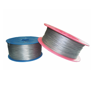 1000 Meters 2mm Electric Fence Wire For Electronic Fence Accessories High Voltage Pulse Power Line Multiply Aluminum Alloy Wire