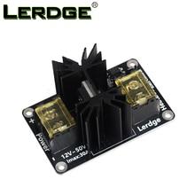 LERDGE 3D-принтеры Запчасти Универсальный дополнительный модуль-модуль с подогревом, Мощность расширения модуль высокой мощности модуль расширения плата с кабелем