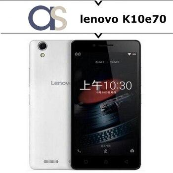 Original New Lenovo K10e70 4G Smart phone Android 6.0 OS MSM8909 Quad Core 1.1GHz 5.0 inch 1280x720P 8.0MP Camera 2G RAM 16G ROM Lenovo Phones