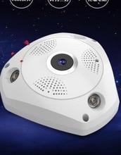 2017 HD 1080 P 3D VR WI-FI IP Камера обзора 360 градусов Ночное видение мини Беспроводной Мониторы 3.0MP видеонаблюдения Камера панорама P2P
