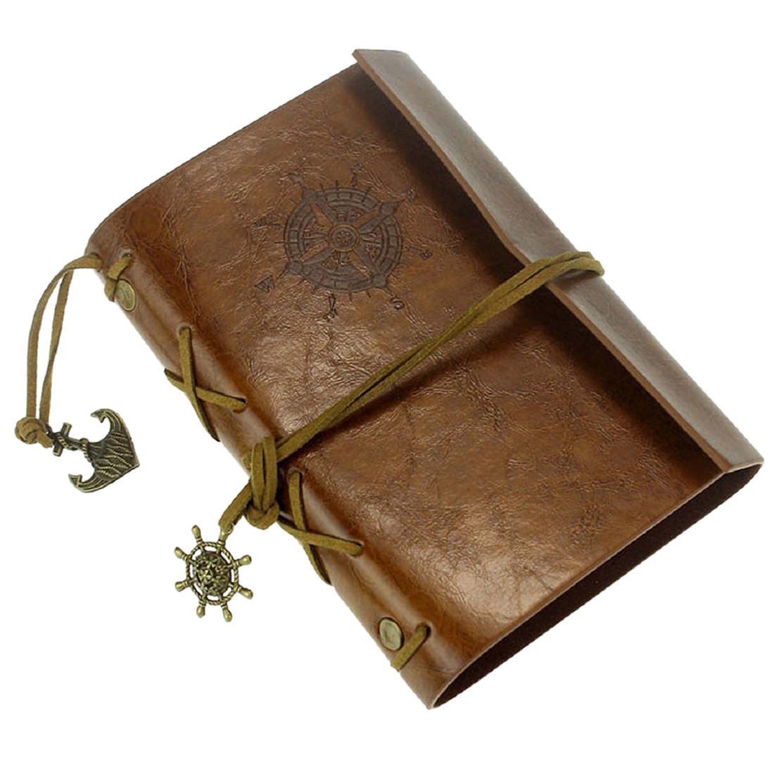 Affordable Leather Case Vintage Style Portable Journal Diary book Chain Nautical Small Size supply chain of transmission quality and affordable 20ab