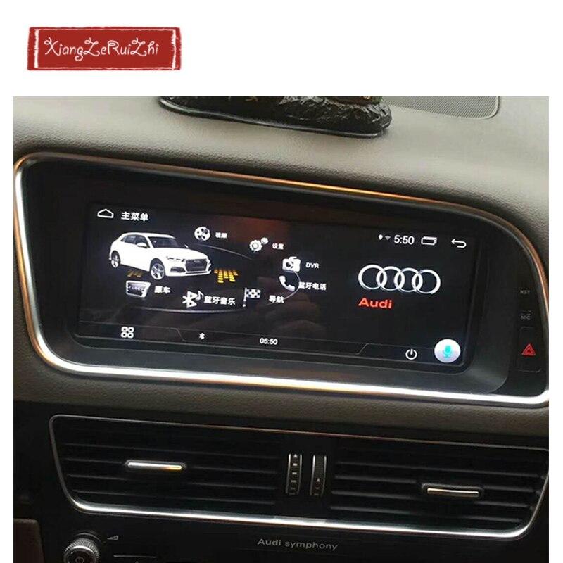 8.8 pollice Android GPS per auto dvd multimediale di navigazione Per AUDI Q5 (2009-2017) con radio/video/USB/WIFI