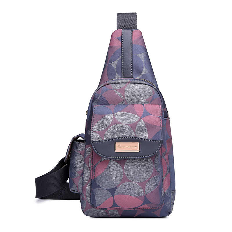 2018 Новое поступление Оксфорд Для мужчин груди пакет один плечевой ремень сумки через плечо для Для женщин Назад Слинг Мешок Реальные прямые продажи