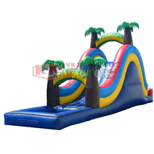Environmentally friendly PVC inflatable water slide paradise  Primitive Forest Adventure Park