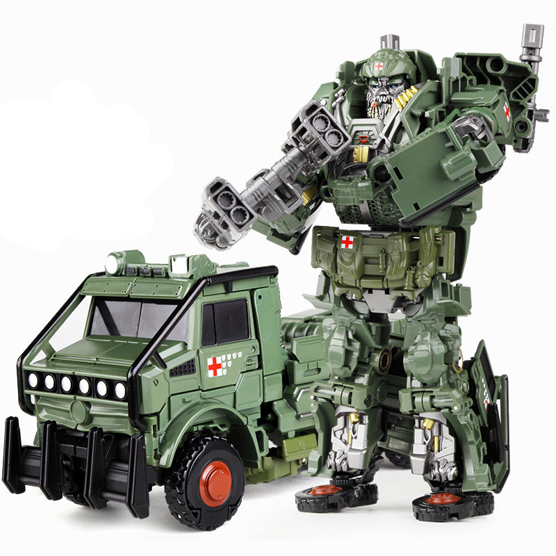 MP36 Commander Masterpiece deformation toys Randsora Toy transformation 5 toy Robot Action Figure model Last Knight viruses cell transformation and cancer 5