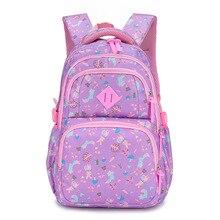 цена на children school bags teenager girls orthopedic schoolbags backpacks kids schoolbags primary school backpacks bookbags sac enfant
