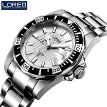 Horloges mannen LOREO Watch Men Sport Waterproof 200m Automatic Mechani
