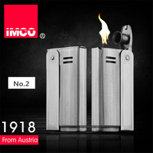 Marca IMCO 6800 Lighter Benzina Olio In Acciaio Inox Originale Accendisigari Accendisigari Vintage Fuoco Retro Regalo Accendini A Benzina