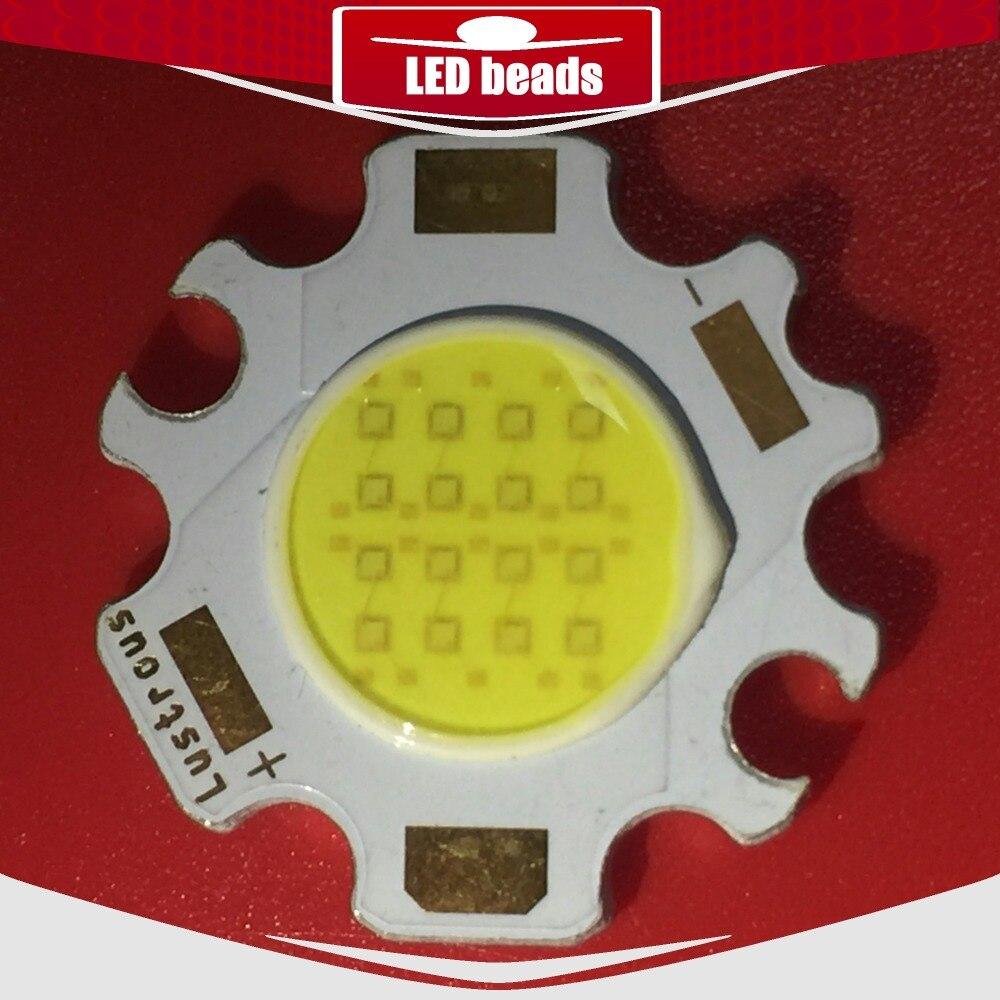 30 pièces cob 13.5 w watts 7.2-8V COB driverled d'intérieur gu10 mr16 t10 led panneau bande cob ampoule lampe de croissance puce lampe de bureau barra