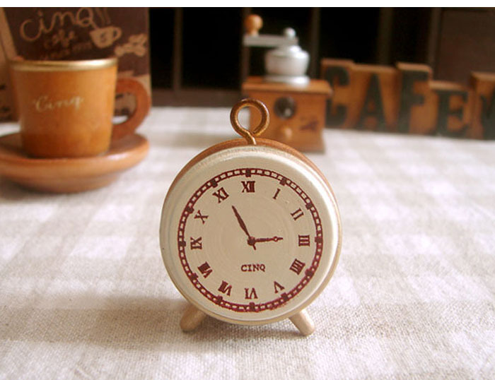 20 pçs lote Engraçado relógio posição clássica