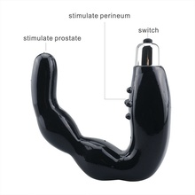 Men Prostate Massage C Point Vibrating Stick Unisex Silicone Dildo Vibrator Sex Products For  medical silicone