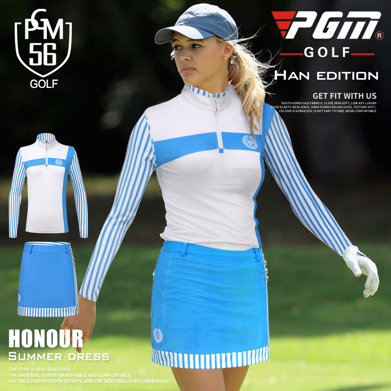 Women Golf shirt or skirts lady summer outdoor golf short-sleeve shirt girl golf apparel quick dry slim sports wear skirts set brand polo golf v short sleeve shirt golf sportswear outdoor wear lady golf apparel fashion summer clothing quick dry new tshirt