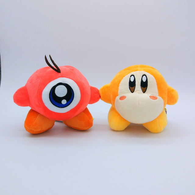 "cartoon Waddle Dee & Waddle Doo 5"" Kirby Plush Doll Figure ... Waddle Dee And Waddle Doo"