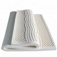 Натуральный латекс матрас дышащий вентилируемые 7 зоны массажа спальный матрас один двойной Размеры кровати матрас