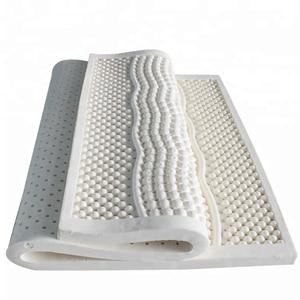 Image 1 - טבעי לטקס מזרן לנשימה מאוורר 7 אזור עיסוי שינה אחת כפול גודל מיטת מזרן