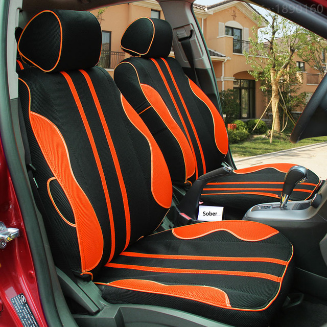 Front Rear Car Seat Covers For Tesla All Models S X