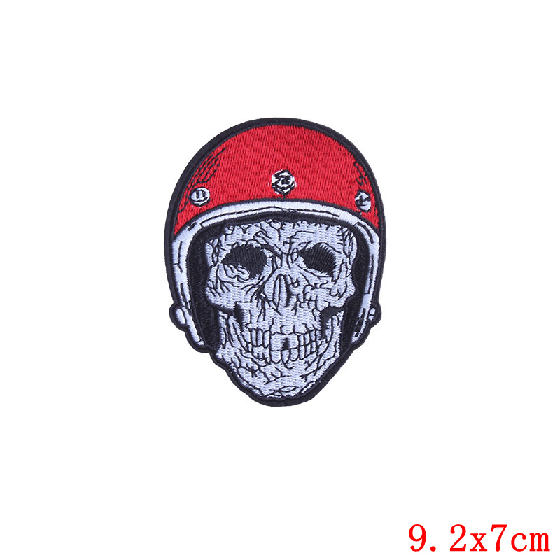 1PCS Bitch Butt Space Alien Patch Iron on Sew Applique Motorcycle Biker Embroidered Patches for Clothes Sticker Badge Accessory