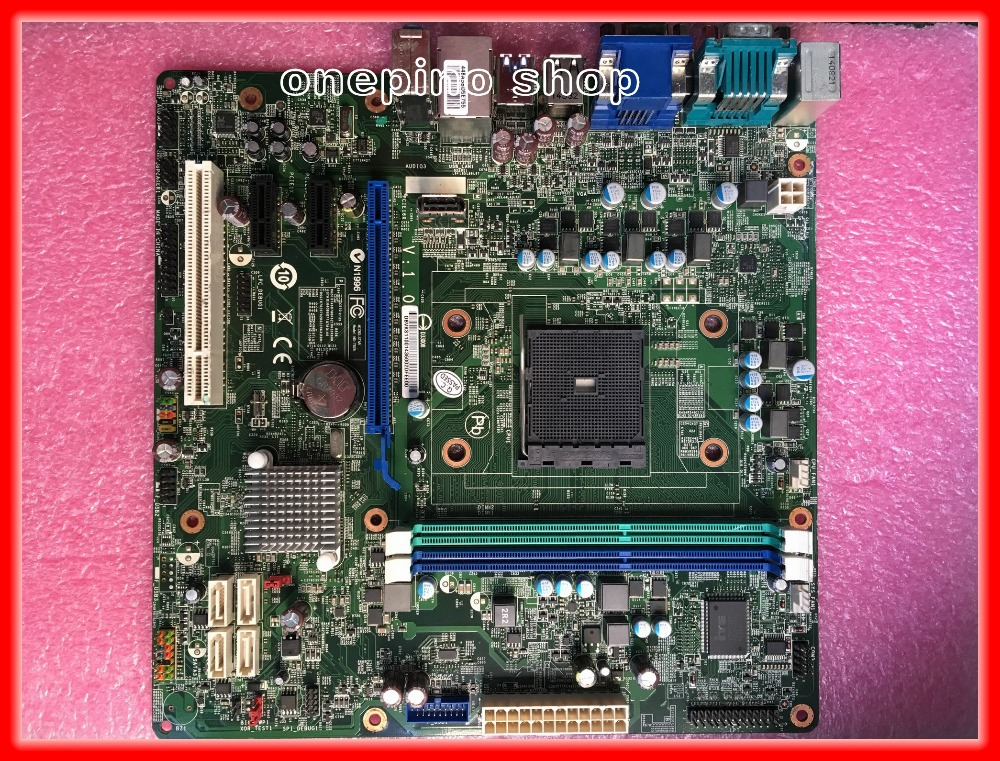 ФОТО MS-7928 motherboard For Lenovo A75M VER 1.0 FM2+ DDR3 boards A75Desktop motherboard Free shipping