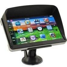 7 дюймов HD Автомобильный gps навигатор емкостный экран FM 8 ГБ/256 Мб автомобиль грузовик gps