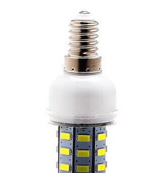 Купить с кэшбэком E14 10W 48x5730SMD 1000LM 6000-6500K White Light LED Corn Bulb (110V OR 220V)