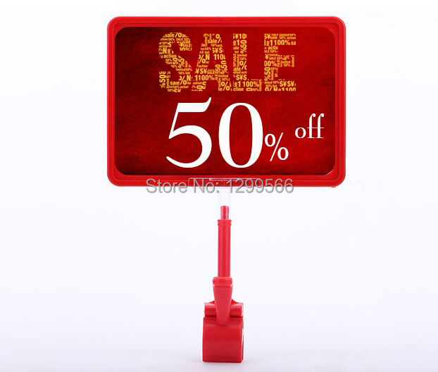 10 Sets Thumb clip pop advertising poster display stand ...
