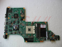 For HP DV7 DV7-4000 605320-001 Laptop Motherboard Mainboard HM55 Non-integrated Free Shipping 100% test ok free shipping 646175 001 for hp 2000 cq43 cq57 laptop motherboard with for intell hm55 chipset