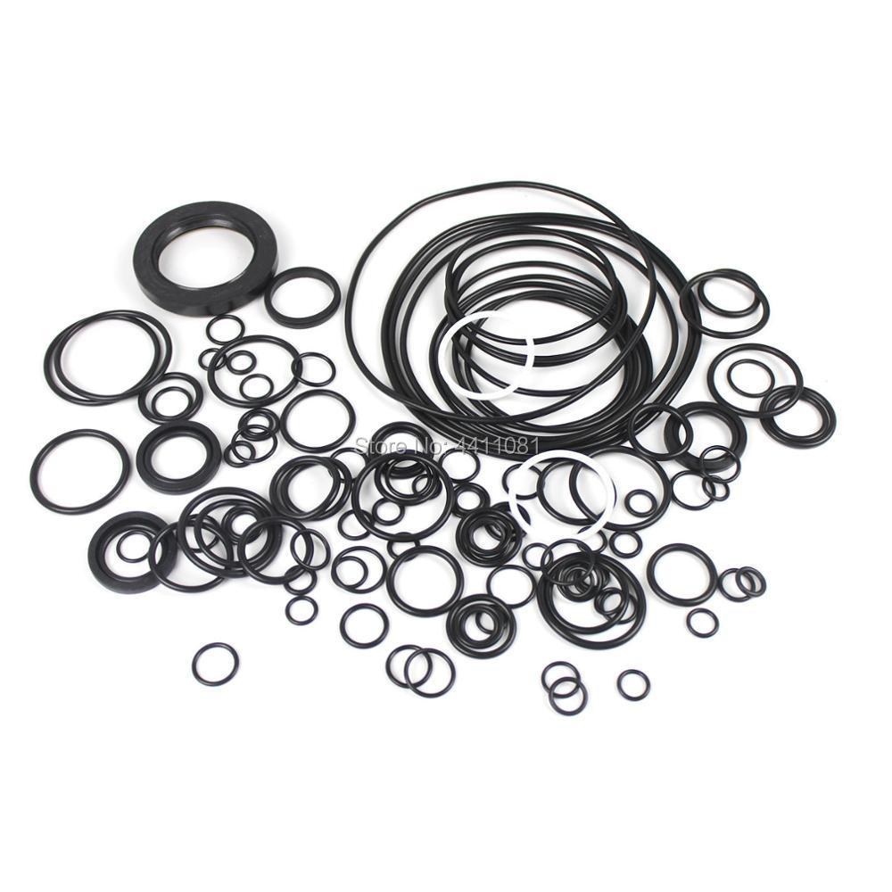 For Kobelco SK350-8 Main Pump Seal Repair Service Kit Excavator Oil Seals, 3 month warranty excavator solenoid valve yn35v00050f1 sk260lc 8 sk330 8 sk350 8