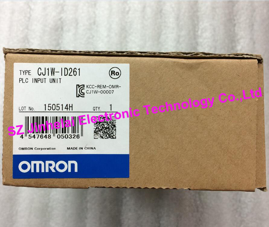 New original CJ1W-ID261 OMRON PLC dhl eub 2pcs original for omron new cj1w pd022 sha03 cj1wpd022 plc module 15 18