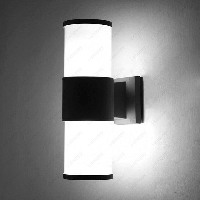 48W48W48W LED Exterior Wall Sconces Lamp Fixture Basement Yard Unique Basement Lighting Design Exterior