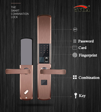 Fingerprint Lock For Home Anti-theft Door Lock Keyless Smart Lock With Digital Password RFID Unlocked