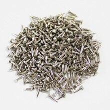 silver color mini small nails 6mm