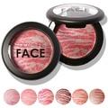 Nueva llegada! la Moda de las mujeres Herramienta de La Belleza Cosmética Cara Maquillaje Baked Blush Colorete