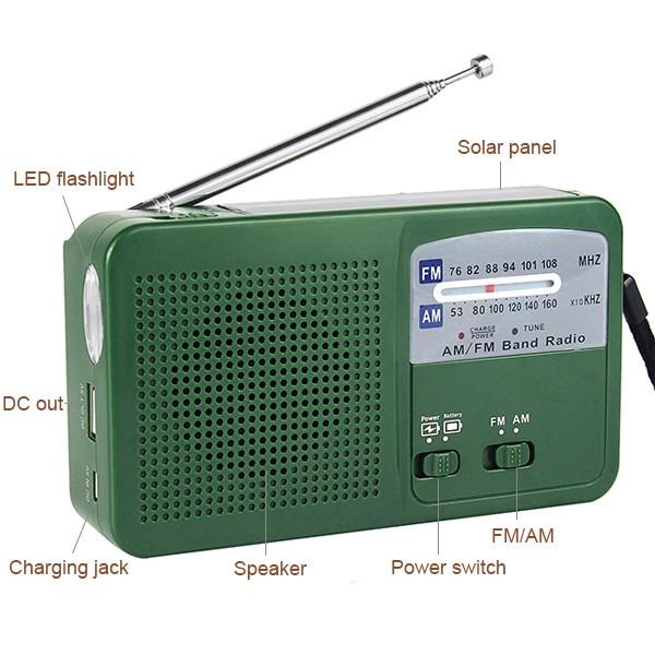 1 pc Dynamo Generator FM AM Radio (2)