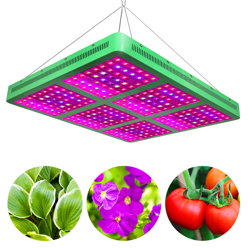 300W 600W 1200W 1800W LED Grow Lights AC85 265V High Power Full Spectrum Grow lamp For Indoor Grow Tent Aquarium Lighting