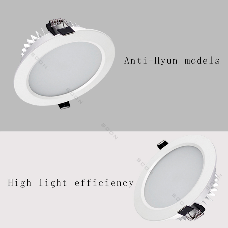 Image 2 - SCON 2.5inch 5W AC110 240V living Room Round waterproof LED Mini downlight CRI RA>85 OSRAM Recessed Ceiling lamp indoor light-in LED Downlights from Lights & Lighting