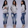 2016 Fashion women jeans Sexy skinny Full length New style calcas feminina jeans bermuda jeans feminina