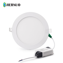 3W~30W Round/Square Led Panel Light Ultra thin Warm/Cold White Downlight lighting Led ceiling Recessed Light AC85-265V AE