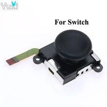 лучшая цена YuXi 1pcs 3D Analog Joystick For Nintendo Switch Grips sticks Replacement For NS Joy Con Joy Stick Controller