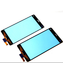 5PCS/LOT Touch Screen Digitizer 100% Original New Touch Panel Glass Digitizer For Sony Xperia Z3 Compact Z3 Mini D5803 D5833