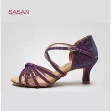 Обувь для латинских танцев; женская обувь взрослых; хамелеоновая