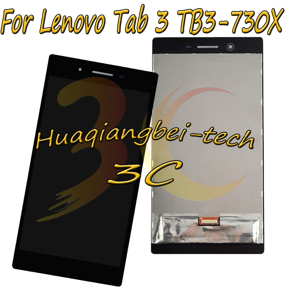 7.0'' New For Lenovo Tab 3 TB3-730X TB3-730 TB3-730F TB3-730M Full LCD DIsplay + Touch Screen Digitizer Assembly 100% Tested srjtek 7 for lenovo tab3 3 7 730 tb3 730 tb3 730x tb3 730f tb3 730m touch screen digitizer sensor lcd screen display assembly
