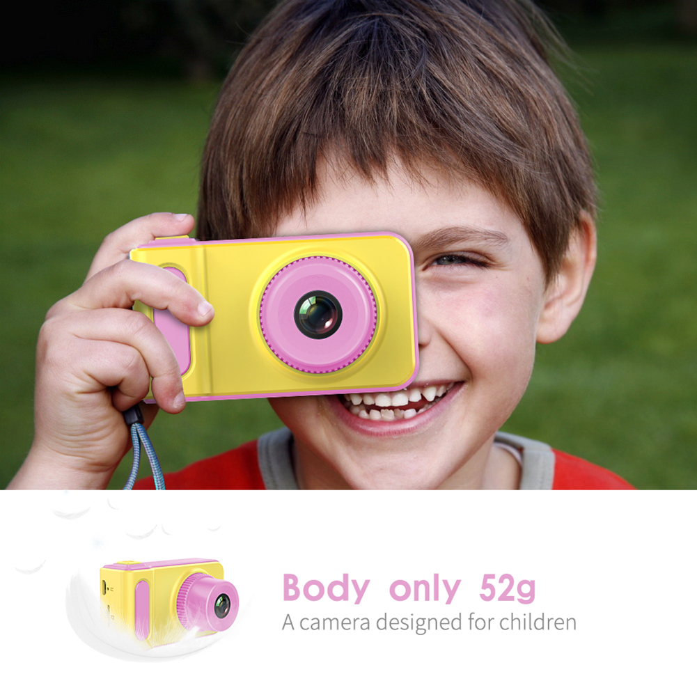 Double Lens  Kids Toy Gift Room Decor  Furnishing Articles Toy Digital Camera Video Recorder Cute Camera Toys