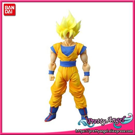 PrettyAngel - Genuine Bandai Tamashii Nations S.H.Figuarts Dragon Ball Z Super Saiyan Son Goku Action Figure