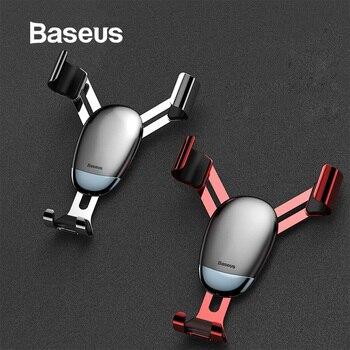 Support pour voiture Baseus universel gravité support pour voiture support pour téléphone pour iPhone XR XS Max Samsung Mini support pour téléphone Mobile