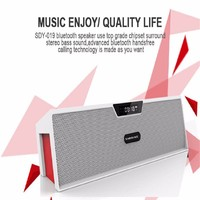 New Altavoz Bluetooth Speaker Wireless HIFI Portable Speaker High Quality Music Surround Sound Box With FM