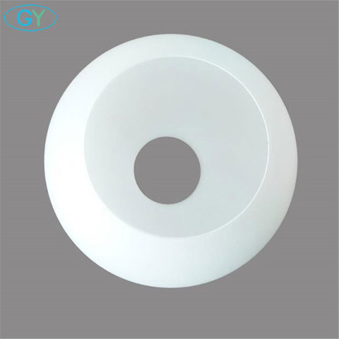 branco mascara de lampada vidro globo